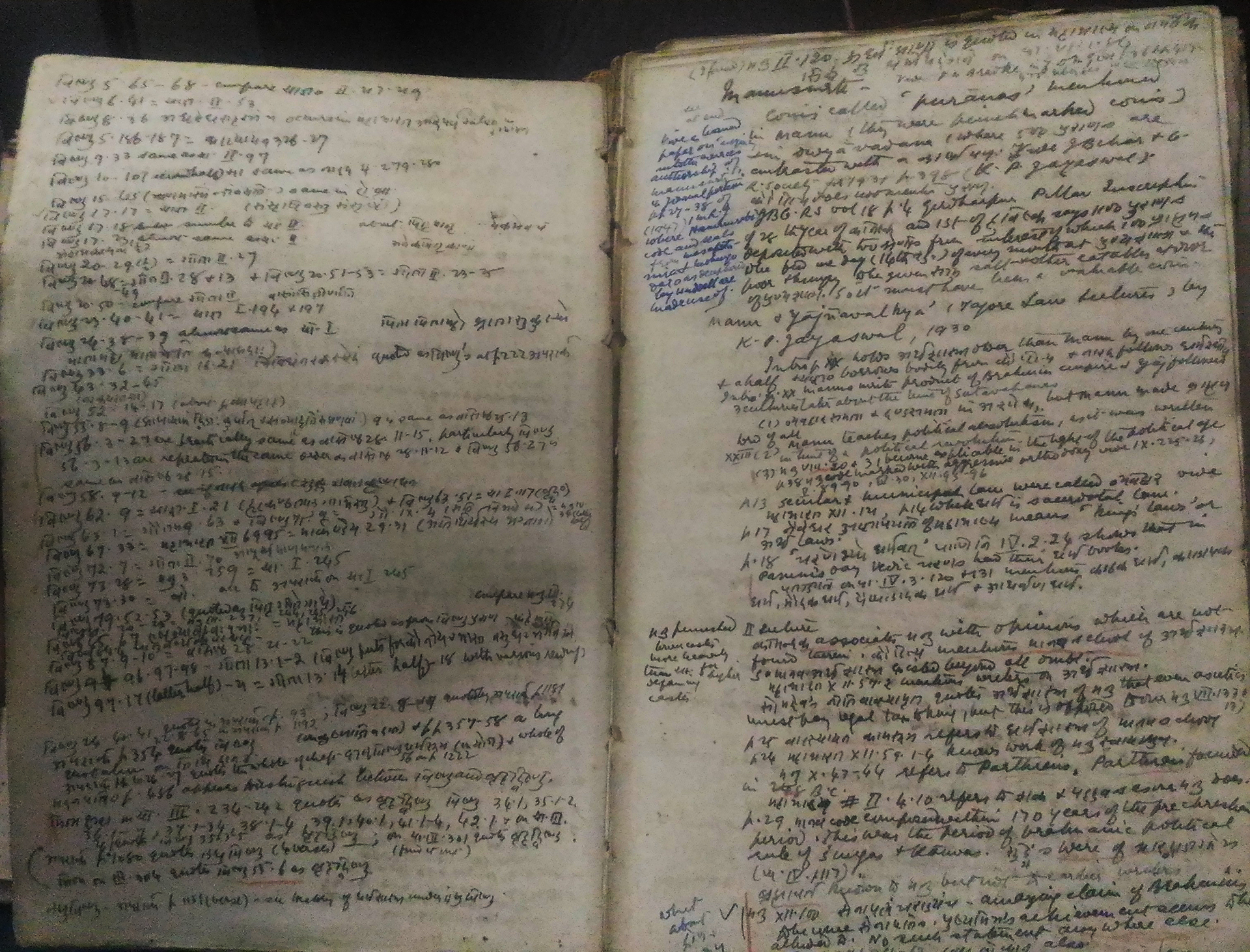 Dr. Kane's notes on the first edition of Vol. 1