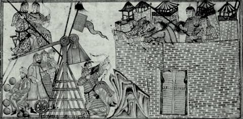 Attack of Mahmud of Ghazni