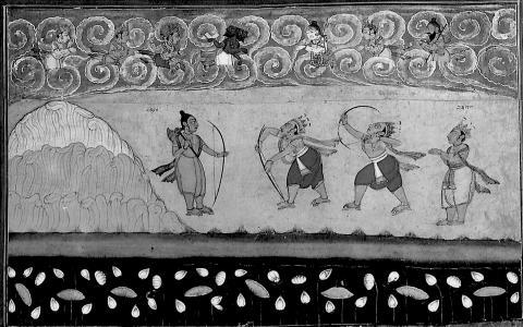 Parashurama & Rama