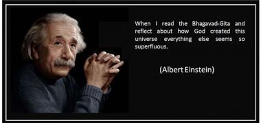 Einstein Bhagavad Gita