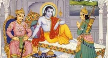 Krishna-Arjuna-Duryodhana