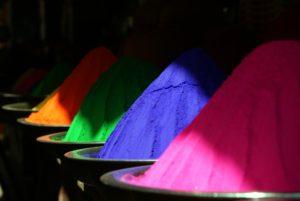 Holi colours