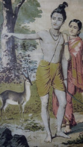 Rama_in_forest