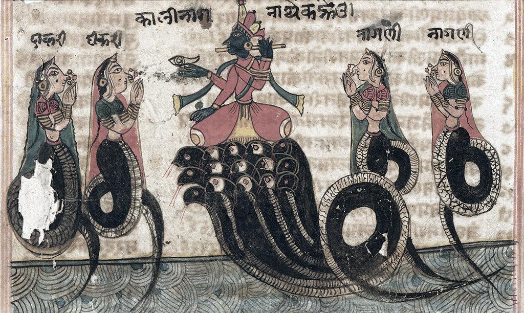 Krishna vs. Kaliya