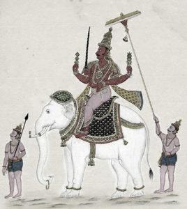 Indra, thesymbol for kshaatra