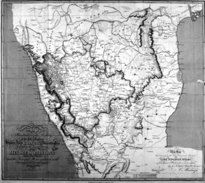 Colin Mackenzie's Map of South India (1808)
