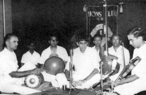 Suresh accompanied by Lalgudi Jayaraman and Umayalpuram Sivaraman (1967)