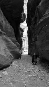 The Treasury beyond the Siq