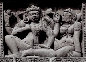 Purusha and Prakruti in Indian Sculpture. Image courtesy: Google Image Search