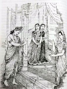 Bhīṣma in conversation with Satyavatī
