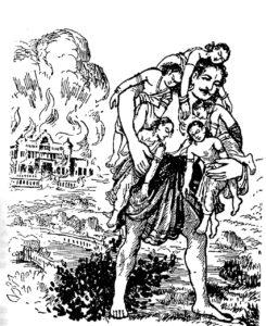 Pandavas-Varanavata