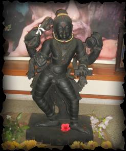 Bharata muni sculpture designed by Dr. Padma Subrahmanyam