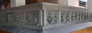 Karana sculptures, Bharata temple, Mahabalipuram